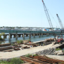 Veterans Bridge Dismantling in South Portland