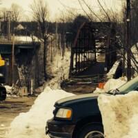 Photo Gallery : Recent Work : Bridge Dismantling, Roof Collapse